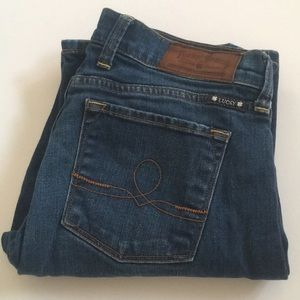 🍀 Lucky Brand Sofia Boot Ankle Jeans